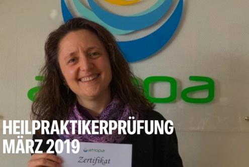 Heilpraktikerprüfung März 2019